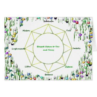 Carte de voeux d'Ostara