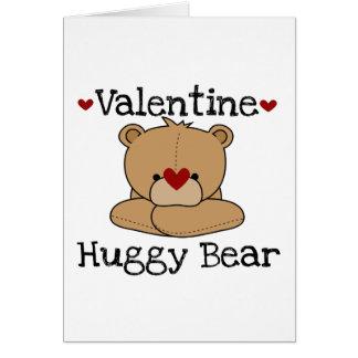 Carte de voeux d'ours de Valentine Huggy