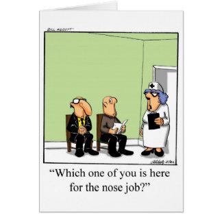 Carte de voeux drôle de jour d'infirmières