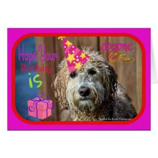 Carte de voeux drôle de joyeux anniversaire de