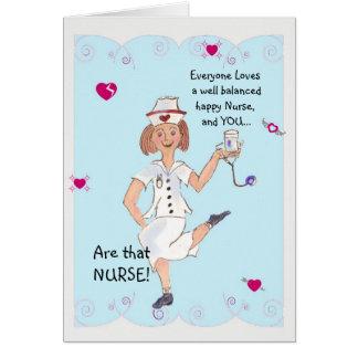 Carte de voeux du jour de l'infirmière