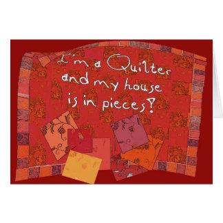 carte de voeux du quilter II