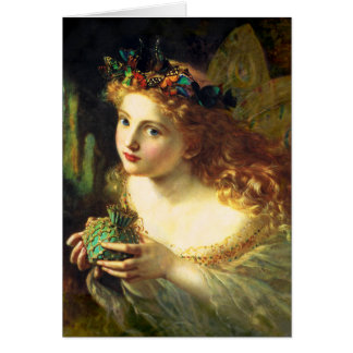Carte de voeux féerique de Sophie Anderson