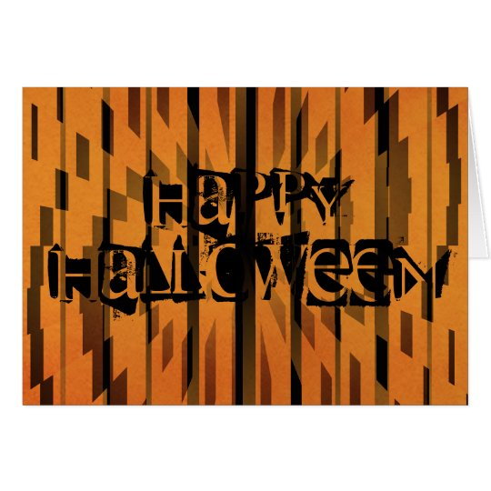 Carte de vœux Happy Halloween