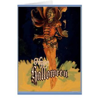 Carte de voeux heureuse de Halloween
