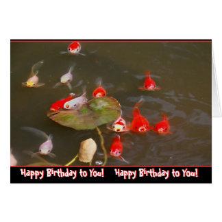 Carte de voeux humoristique d'anniversaire