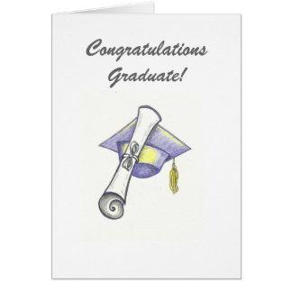 Carte de voeux licenciée de Congratualtions