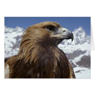 Carte de voeux majestueuse d'Eagle
