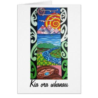 Carte de voeux - NZ - ma tranche de ciel