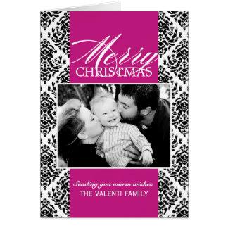 Carte de voeux personnalisable de photo de Noël de