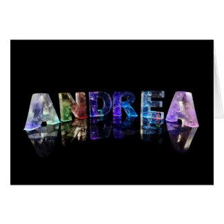 Carte de voeux pour Andrea
