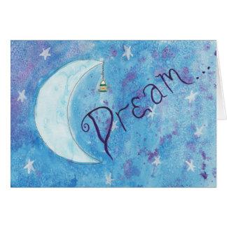 Carte de voeux rêveuse