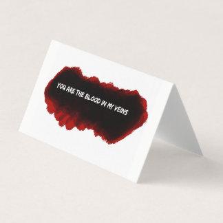 Carte de voeux romantique