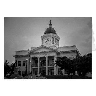 Carte de voeux - tribunal de la Caroline du Nord