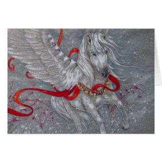 Carte de voeux - vacances Pegasus