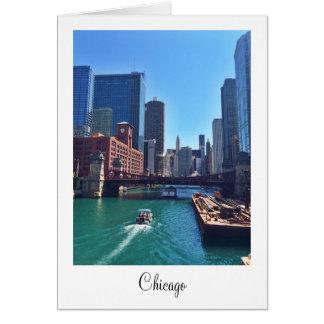Carte de voeux vierge de Chicago
