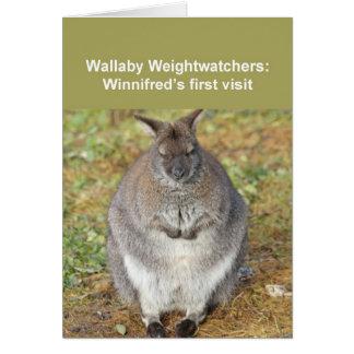 Carte de wallaby