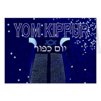 Carte de Yom Kippour