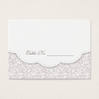 Carte décorative d'endroit de Tableau de mariage