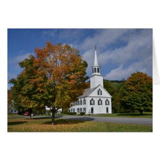 Carte d'église de Townshend