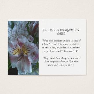Carte d'encouragement de bible