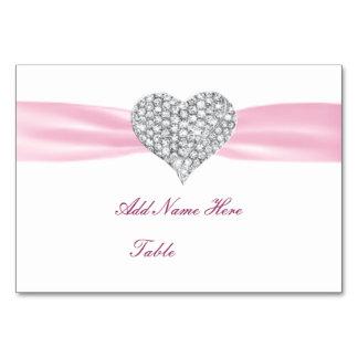 Carte d'endroit de Tableau de mariage de rose de c