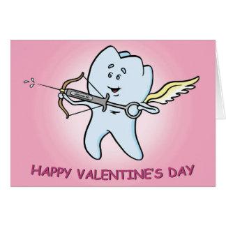 Carte dentaire de Saint-Valentin