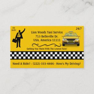 Carte Dentreprise De Services Taxi