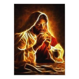 Carte Dernier dîner de Jésus-Christ