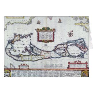 Carte des Bermudes