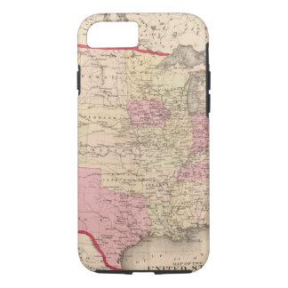 Carte des Etats-Unis 5 Coque iPhone 7