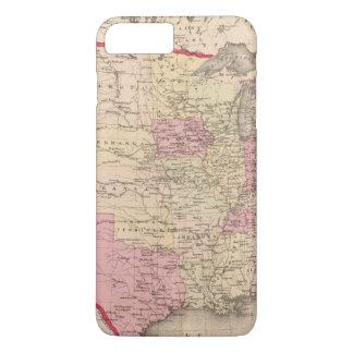 Carte des Etats-Unis 5 Coque iPhone 7 Plus