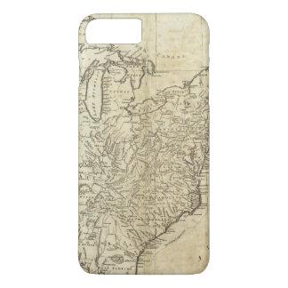 Carte des Etats-Unis d'Amérique Coque iPhone 8 Plus/7 Plus