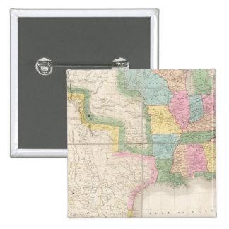 Carte des Etats-Unis de l'Amérique du Nord Pin's