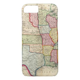 Carte des Etats-Unis, et des territoires Coque iPhone 7