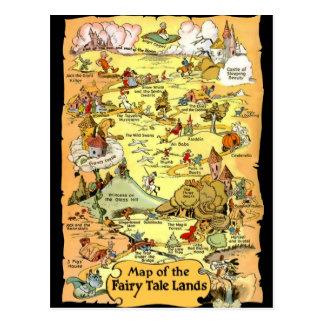 Carte des terres de conte de fées