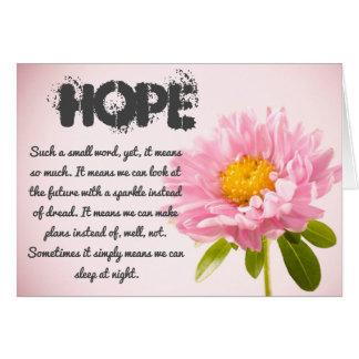 Carte d'espoir