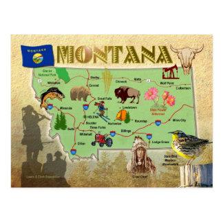 Carte d'état du Montana