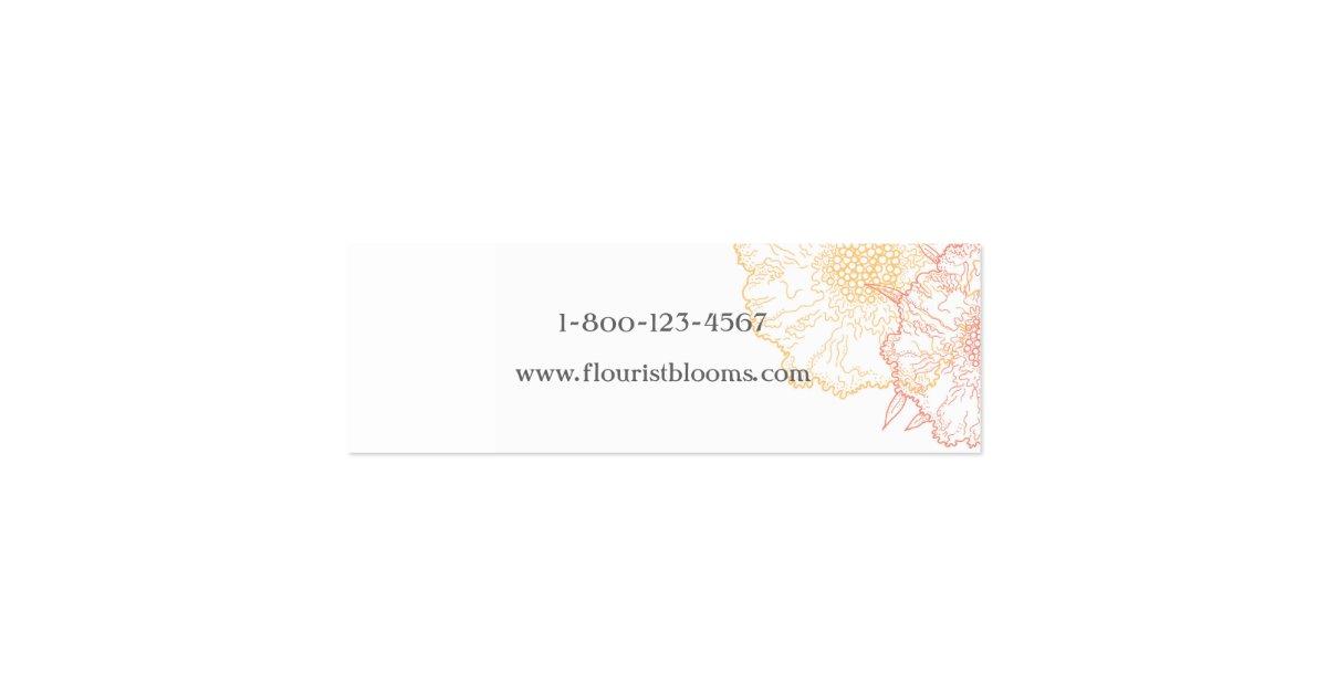 Carte d 39 tiquettes moderne grise de produit de fle carte de visite petit format zazzle - Bureau des cartes grises ...