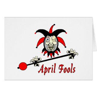 Carte d'imbéciles d'avril