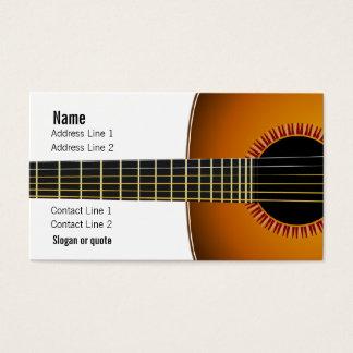 Carte d'industrie musicale de guitare acoustique