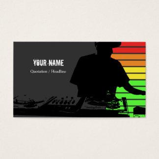 Carte d'industrie musicale du DJ