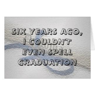 Carte d'obtention du diplôme (avec un ccover genti