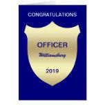 Carte d'obtention du diplôme d'école de police d'i