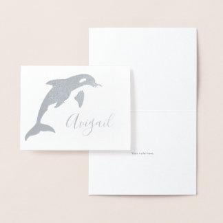 Carte Dorée Papeterie nommée d'orque