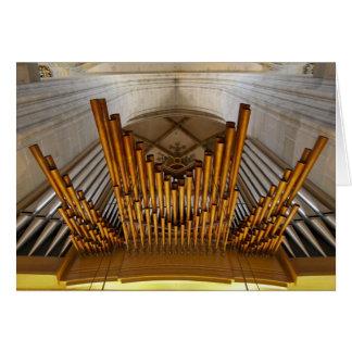 Carte d'organe d'Ulm Munster