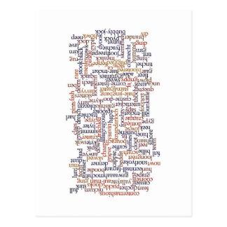 Carte dorique de mot