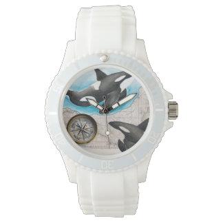 Carte d'orques montres bracelet