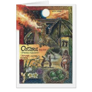 Carte d'Ostara (Pâques)