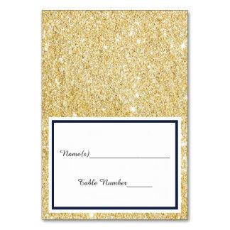 Carte Double équilibre d'or de noir/Faux - escortez la